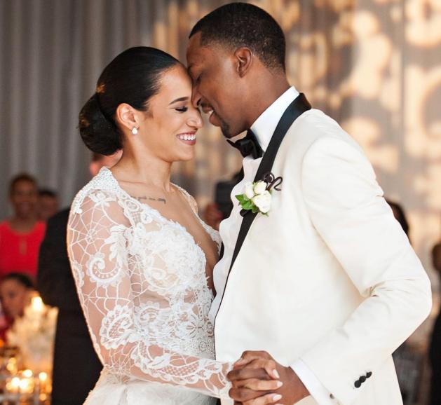波普今日晒出与妻子合影:我爱你,宝贝,结婚周年日快乐 NBA新闻