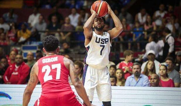 沙松-兰德尔等人入选美国男篮在洛杉矶的陪练队
