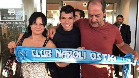 洛萨诺已经抵达意大利,将以3800万欧转会那不勒斯