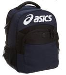 白菜!Asics蓝色双肩背包
