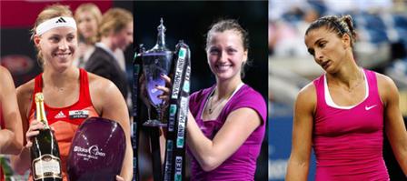WTA宣布3将入围总决赛,李娜斯托瑟巴托丽争最后1席
