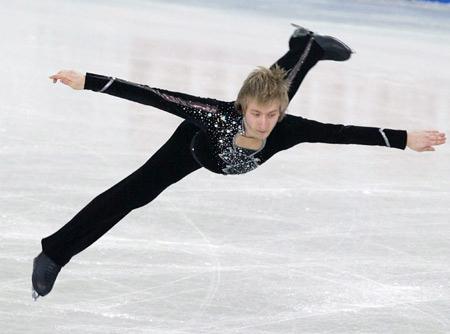 俄罗斯花滑老将普鲁申科复出,正备战索契冬奥会