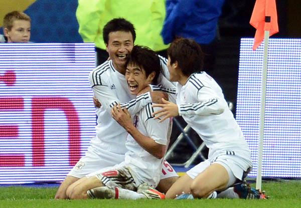 香川真司献绝杀!法国0-1爆冷不敌日本