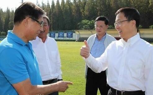 徐根宝豪言:有领导支持,不怕没钱了!