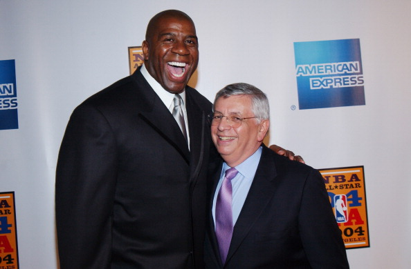 魔术师约翰逊:斯特恩是体育界最伟大的总裁