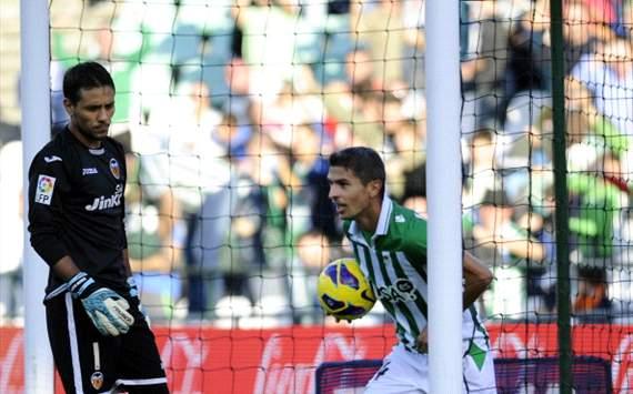 塞维利亚破门,贝蒂斯1-0瓦伦西亚