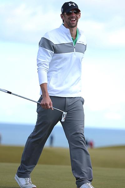 菲尔普斯:想参加里约奥运会打高尔夫