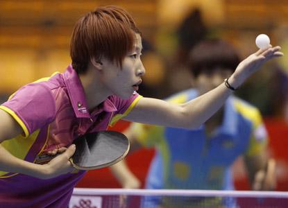 乒超俱乐部排名:女团八一独秀