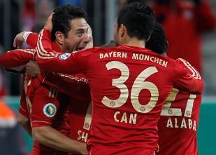 罗本2球,拜仁4-0凯泽斯劳滕
