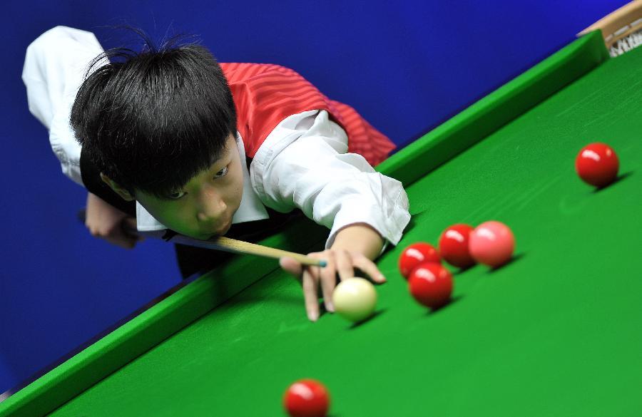 国锦赛:14岁小将吴昊天止步八强