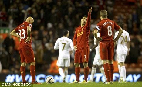 利物浦门将自责:我们踢得不好