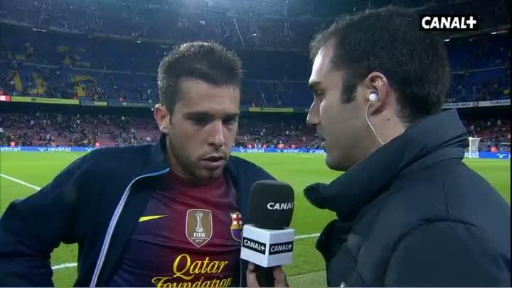阿尔巴:进球不是我的职责,但很高兴