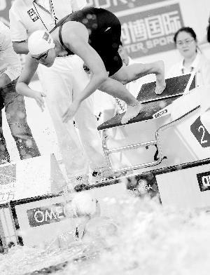 参与者少:游泳混合接力看起来很美