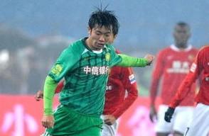 2012中超颁奖礼:国安张稀哲获最佳新人