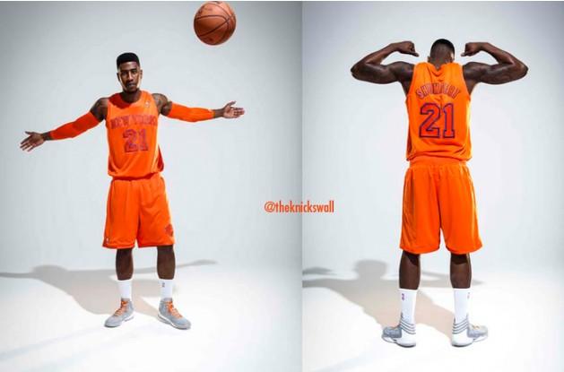 """尼克斯发布""""比橙色还要橙色""""球衣"""