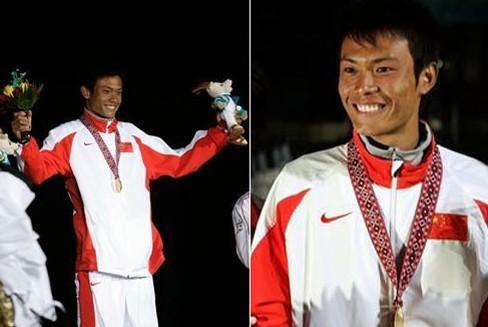 亚运会金牌得主跳海救人后默默离去