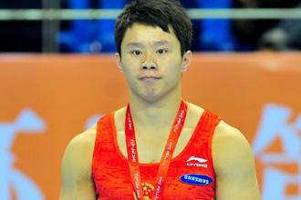 体操亚锦赛第3日:中国2金3银