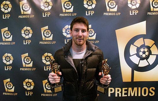 西甲上赛季各项最佳:梅西力压C罗获两大奖