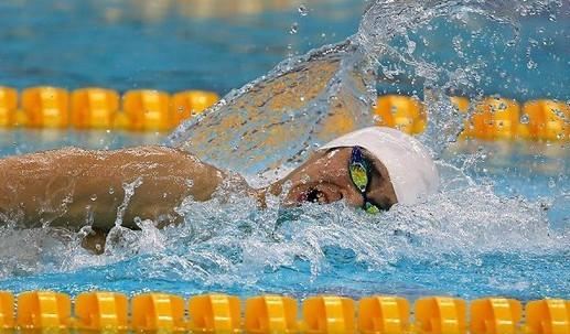 游泳亚锦赛孙杨200米自由泳夺冠