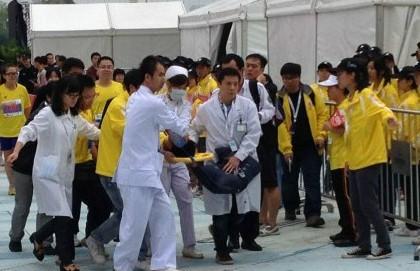 广州马拉松一人病情危重,千余人身体不适