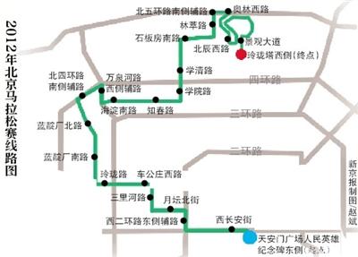 北京马拉松交通管制方案公布:分时段