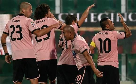 伊利西奇两球,巴勒莫3-1卡塔尼亚