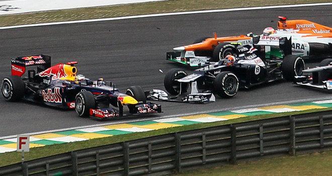 首圈事故后,纽维一度以为维特尔要退赛了