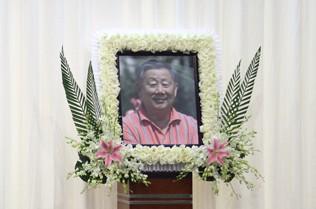 王后军遗体告别仪式在上海举行
