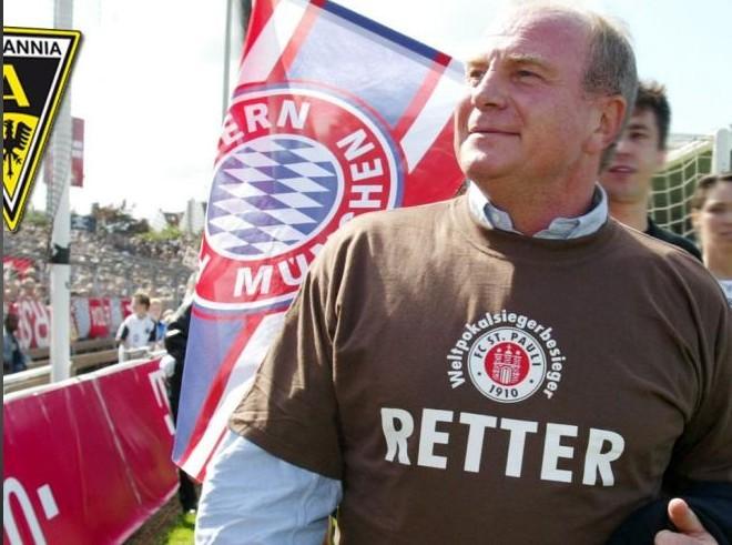 赫内斯计划为援助亚琛举办一场义赛