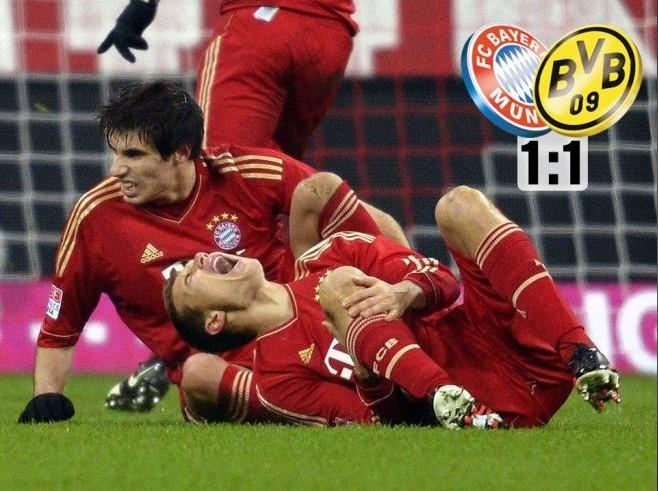 图片报:拜仁仍然无法战胜多特