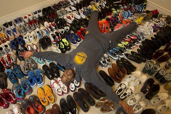 杰克收藏球鞋超1500双,鞋太多也是烦恼