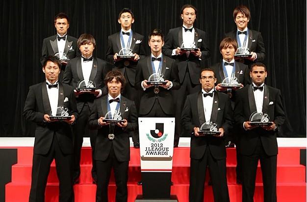 2012J联赛颁奖:佐藤寿人成为MVP