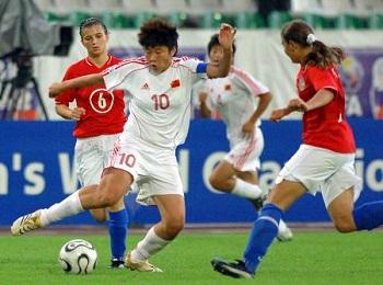 马晓旭:希望再踢世界杯,盼恒大投女足