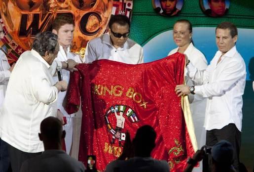 拳王阿里获封WBC拳击之王