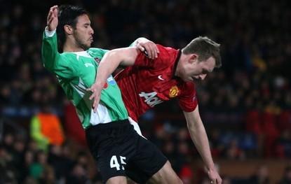 曼联0-1负于克鲁日,小组头名出线