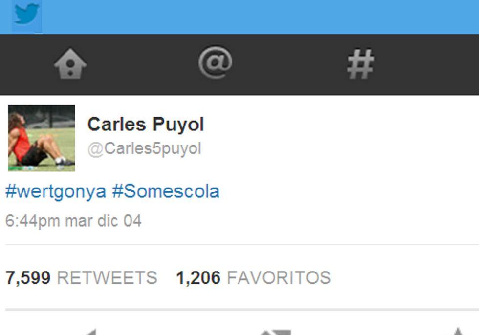 普约尔推特反对有关加泰罗尼亚语的教学改革