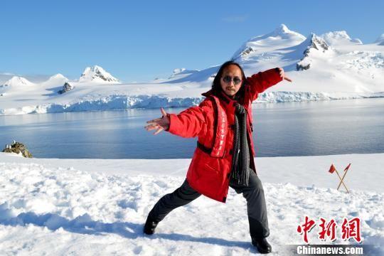 青城派掌门人:南极非常适合打太极