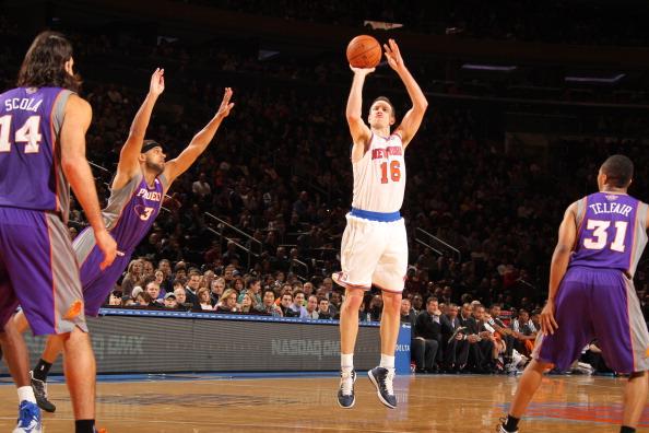 巴克利:诺瓦克是NBA最好的射手