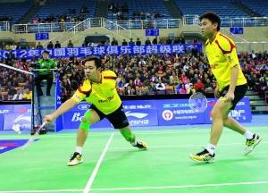 羽超联赛决赛首回合:广州3-1青岛