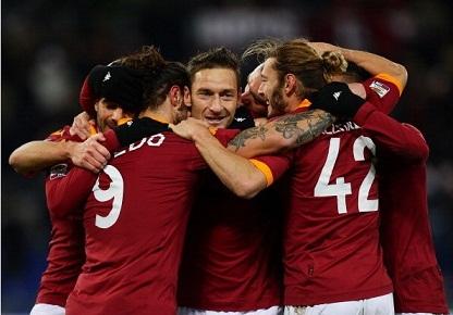 托蒂两射一传,罗马4-2力克佛罗伦萨