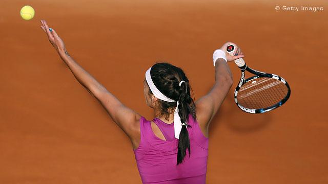数据:WTA年度发球时速排名