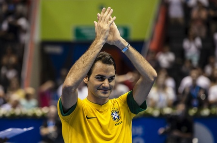 费德勒:看到巴西球迷激动落泪很幸福