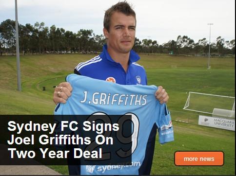 悉尼FC官方宣布乔尔加盟,签约2年