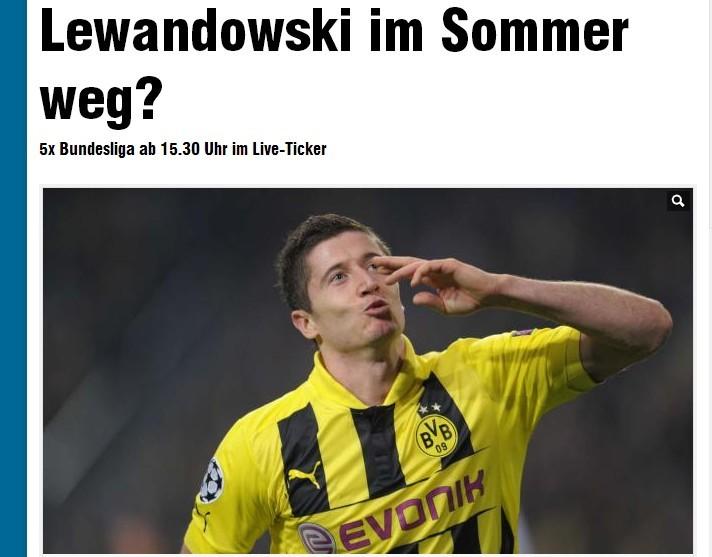 莱万多夫斯基将在夏天离开多特蒙德?