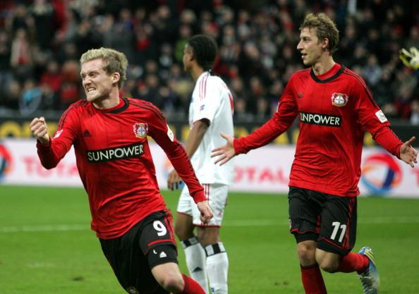 基斯林2球,勒沃库森3-0汉堡