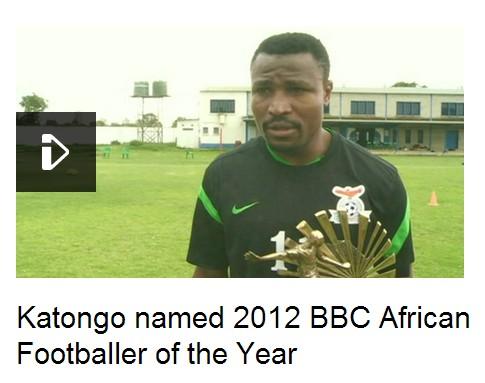 卡通戈当选BBC非洲年度最佳球员