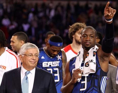 韦德:NBA去年的停摆毫无意义
