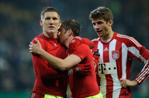 德媒对拜仁三位领袖球员上半程表现作出总结