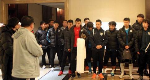 徐弘:陈涛非常出色,希望年轻队员多学习