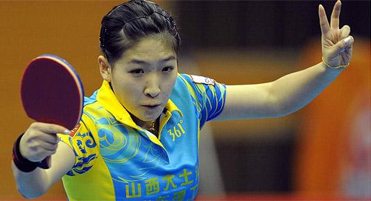 刘诗雯率山西锁定常规赛头名